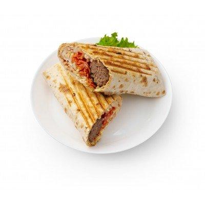 Люля кебаб из телятины в лаваше